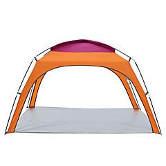 billige Telt og ly-3 person Skjermtelt Strandtelt Utendørs Lettvekt, Regn-sikker, UV-bestandig Med enkelt lag Stang camping Tent 2000-3000 mm til Fisking Strand Camping / Vandring / Grotte Udforskning 600D polyester