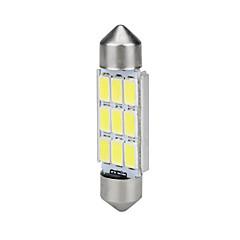 billige Interiørlamper til bil-39mm festoon 5630 9smd canbus feilfri bil hvit ledd innvendig kuppel lys buld