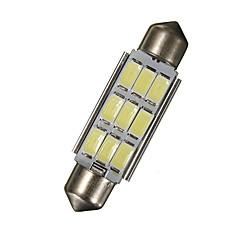 billige Interiørlamper til bil-1 Deler 42mm Bil Elpærer 18 W SMD 5630 270 lm 9 LED Lisensplatelampe / interiør Lights Til Universell / Volkswagen / Toyota General motors Alle år