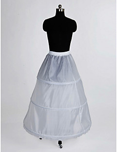 cheap Wedding Slips-Wedding Special Occasion Slips Nylon Floor-length A-Line Slip With
