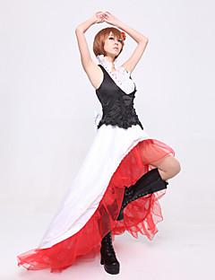baratos Fantasias de Vídeo Game-Inspirado por Vocaloid Meiko Vídeo Jogo Fantasias de Cosplay Ternos de Cosplay Retalhos Blusa Trajes da Noite das Bruxas