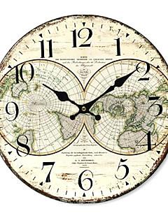 Χαμηλού Κόστους Ξύλινα Ρολόγια Τοίχου-χώρα παγκοσμίως ρολόι τοίχου