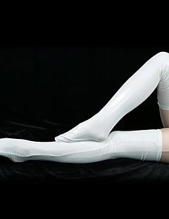 ソックス&ストッキング 忍者 全身タイツ コスプレ衣装 ソリッド パンスト スパンデックス 男女兼用 ハロウィーン