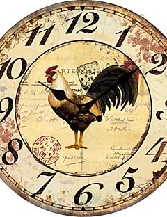 Χαμηλού Κόστους Ξύλινα Ρολόγια Τοίχου-χώρα ζώων ρολόι τοίχου