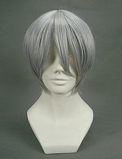 cheap Anime Cosplay Wigs-Cosplay Wigs Vampire Knight Zero Anime Cosplay Wigs 32 CM Heat Resistant Fiber Men's
