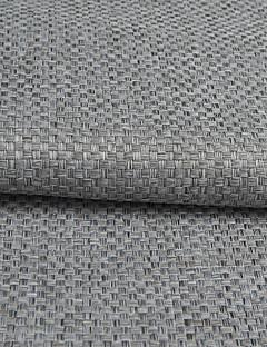 baratos Cortinas Transparentes-Barra no Interior Anéis Presilhas Duplo Plissado Tratamento janela Modern, Jacquard Xadrez 100% Poliéster Poliéster Material Decoração