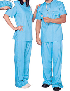 cheap -Doctor Cosplay Costume Party Costume Unisex Halloween Carnival New Year Festival / Holiday Halloween Costumes Solid