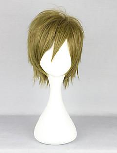 cheap Anime Cosplay-Cosplay Wigs Free! Makoto Tachibana Anime Cosplay Wigs 35 CM Heat Resistant Fiber Men's