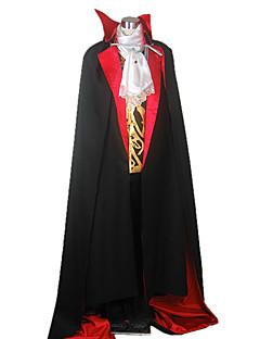 billige Voksenkostymer-Vampyrer Cosplay Kostumer Party-kostyme Herre Halloween Festival / høytid Halloween-kostymer Ensfarget