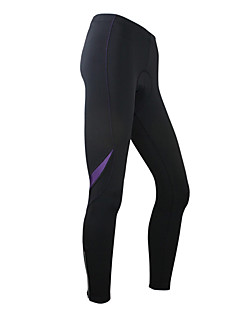 cheap Cycling Pants, Shorts, Tights-SANTIC Women's Cycling Tights - Black Bike Thermal / Warm, Fleece Lining Spandex