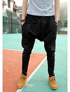 billige Herrebukser og -shorts-Menn Casual Pure Color Harem Trousers