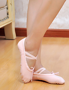 preiswerte Tanzkleidung & Tanzschuhe Ausverkauf-Herrn Damen Ballett Leinwand Flach, Ballerina Rot Rosa Schwarz Weiß Rosa Keine Maßfertigung möglich