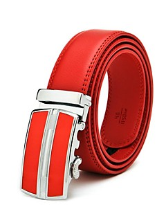 cheap -Men's Party / Work Leather / Alloy Buckle - Solid Colored
