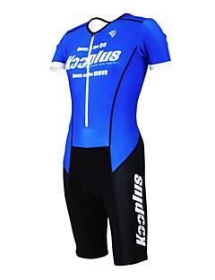 お買い得  トライアスロンウェア-Kooplus 男性用 女性用 半袖 トライスーツ バイク 洋服セット, 速乾性, 高通気性