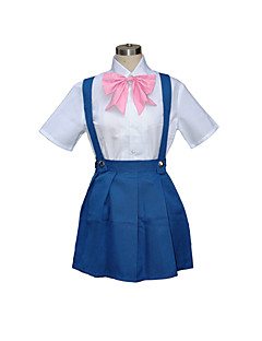 cosplay kostyme inspirert av Higurashi når de gråter Rika furude