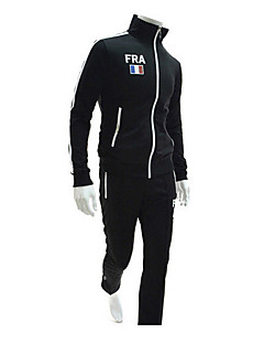 HNH Men's Simple Long Sleeve Simple Sports Suits 8666