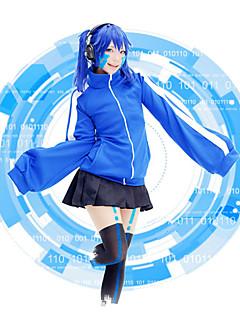 baratos Fantasias de Vídeo Game-Inspirado por Kagerou Projeto Fantasias Vídeo Jogo Fantasias de Cosplay Ternos de Cosplay Sólido Blusa Saia