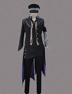 """billige Anime Kostymer-Inspirert av Cosplay Cosplay Anime  """"Cosplay-kostymer"""" Cosplay Klær Lapper Langermet Trøye / Bukser / Dress Til Herre Halloween-kostymer"""