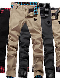 Verificare / Polka Dots model pantaloni aleatoare Casual Sameul bărbați