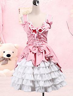 Söpö Lolita Prinsessa Naisten jsk / Jumper Skirt Cosplay Hihaton