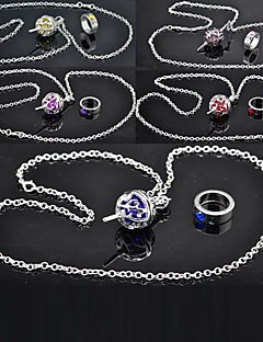 cheap Anime Cosplay Accessories-Jewelry Inspired by Puella Magi Madoka Magica Cosplay Anime Cosplay Accessories Necklaces Alloy Women's New Hot