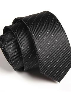 olcso -sktejoan ® férfi üzleti csíkos poliészter keskeny nyakkendő (szélesség: 5cm)