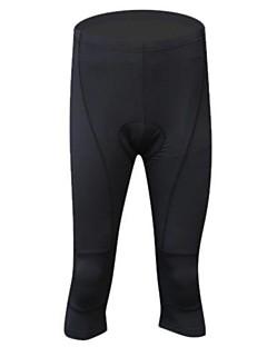 billige Sykkelklær-Realtoo Herre Dame Unisex 3/4 sykkeltights Sykkel Shorts Bunner Pustende Fort Tørring sport Spandex Klær Sykkelklær