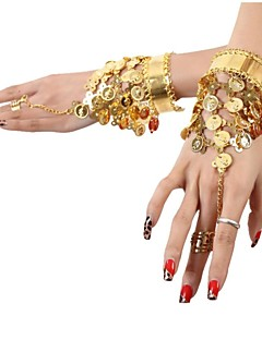 cheap Belly Dance Wear-Dance Accessories Jewelry Women's Sequined Metal Coins Tassel(s) Christmas Halloween
