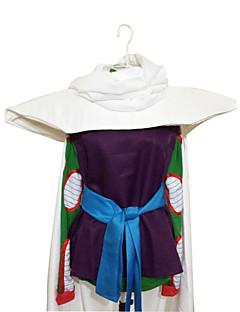 """billige Anime-gensere og hettegensere-Inspirert av Dragon Ball Piccolo Anime  """"Cosplay-kostymer"""" Cosplay Klær Lapper Ermeløs Trikot / Heldraktskostymer / Topp / Belte Til Herre Halloween-kostymer"""