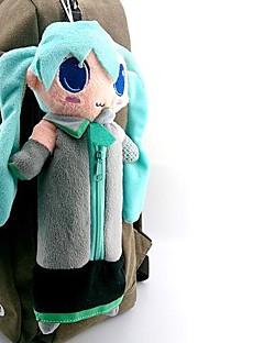 billige Anime cosplay-Veske Inspirert av Vokaloid Hatsune Miku Anime / Videospil Cosplay Tilbehør Veske Blå Polar Fleece Mann / Kvinnelig