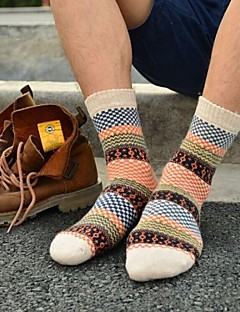 billige Herremote og klær-Herre Sexy Underbukse Stripet Mellomhøyt liv