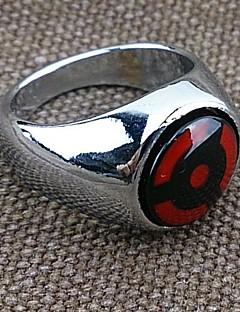Smykker Inspirert av Naruto Cosplay Anime Cosplay Tilbehør Ring Rød Legering Mann