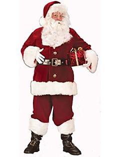billige Voksenkostymer-Nisse drakter Cosplay Kostumer / Party-kostyme Herre Jul / Halloween Festival / høytid Halloween-kostymer Lapper