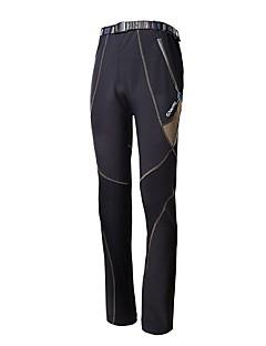 Outto 男性用 ハンティングパンツ 保温 防風 防雨 高通気性 反射性ストリップ 後ポケット パンツ のために キャンピング&ハイキング 狩猟 登山 ブラック M L XL XXL XXXL