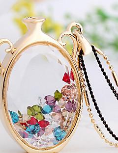 billige -cousri kvinders koreanske krystal halskæde