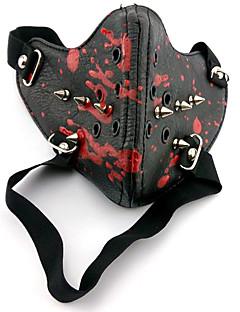 Χαμηλού Κόστους Μάσκες-Μάσκα Εμπνευσμένη από Τόκιο λάμια Στολές Ηρώων Anime Αξεσουάρ για Στολές Ηρώων Μάσκα PU δέρμα Ανδρικά νέος / καυτό Κοστούμια Halloween