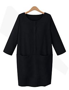 economico Abbigliamento e moda donna-Blusa Per donna Essenziale Tinta unita