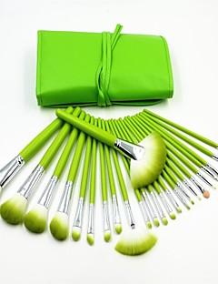 24pcs סט טרי ירוק מקצועי באיכות גבוהה מברשת איפור