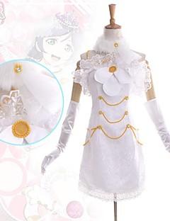 """billige Anime Kostymer-Inspirert av Elsker live Nozomi Tōjō Anime  """"Cosplay-kostymer"""" Kjoler Lapper Ermeløs Kjole Krage Hansker Beinvarmere Mer Tilbehør Til"""