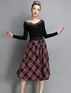 Γυναικεία Κλασσικό   Διαχρονικό Φόρεμα - Πολύχρωμο 160fa5426f5