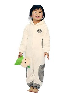 kigurumi Pyjamas Dessin-Animé Collant Collant/Combinaison Fête / Célébration Pyjamas Animale Halloween Imprimé polaire Kigurumi Pour