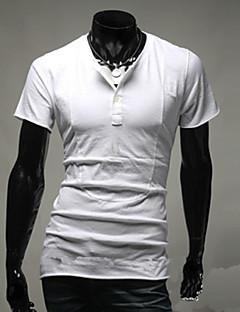 baratos Ponta de Estoque-Homens Tamanhos Grandes Camiseta Sólido