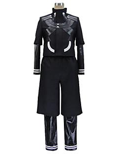 """billige Anime cosplay-Inspirert av Tokyo Ghoul Ken Kaneki Anime  """"Cosplay-kostymer"""" Cosplay Klær Lapper Langermet Frakk / Trikot / Heldraktskostymer / Bukser Til Herre"""