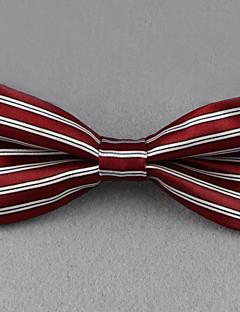 Herrer Sløyfe,Vintage / Fest / Kontor / Fritid Polyester,Stripet