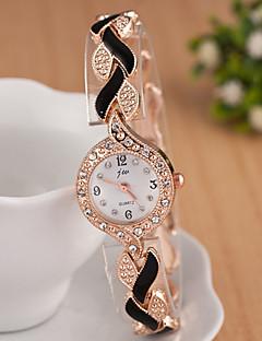 Z.xuan Women's  Steel Band Imitation Diamond Analog Quartz Strap Watch Casual Watch Cool Watches Unique Watches Fashion Wrist Watch