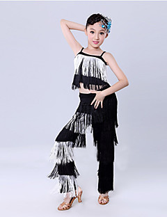 Shall We Latin Dance Outfits Children Fashion/Training Kids Dance Costumes