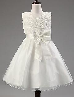 שמלה קיץ ללא שרוולים אחיד הילדה של