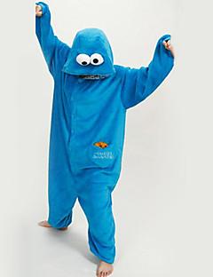 Kigurumi Pijamale noul Cosplay® Desene Animate Leotard/Onesie Festival/Sărbătoare Sleepwear Pentru Animale Halloween Albastru PeteciLână