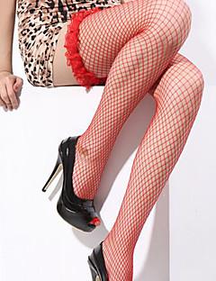 billige Nattøy til damer-Dame Super Sexy Dress Uniformer og kinesiske kjoler Ultrasexy Matchende braletter Blondeundertøy Strømpebånd og hofteholder Undertøy med