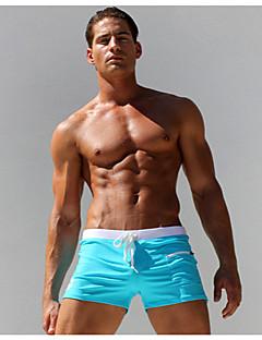 お買い得  メンズアンダーウェア&水着-男性用 スーパーセクシー ボクサーブリーフ - ソリッド 1BOX
